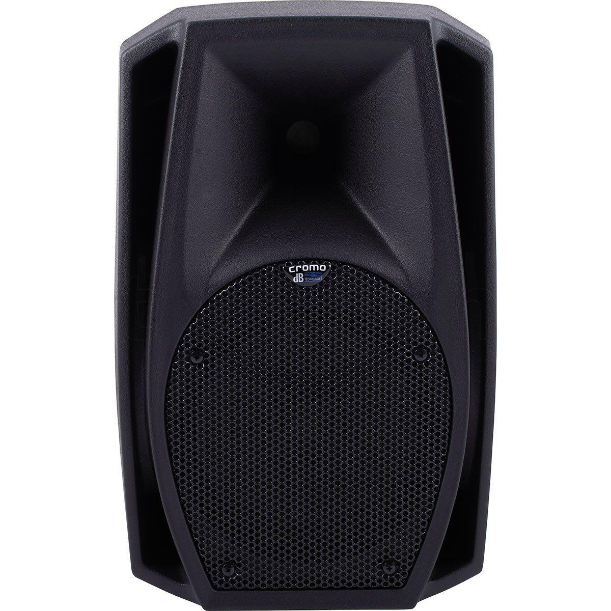 dB Technologies Cromo 8+ Caixa de Som Cromo8+ Ativa 300W Acústica para Música ao Vivo