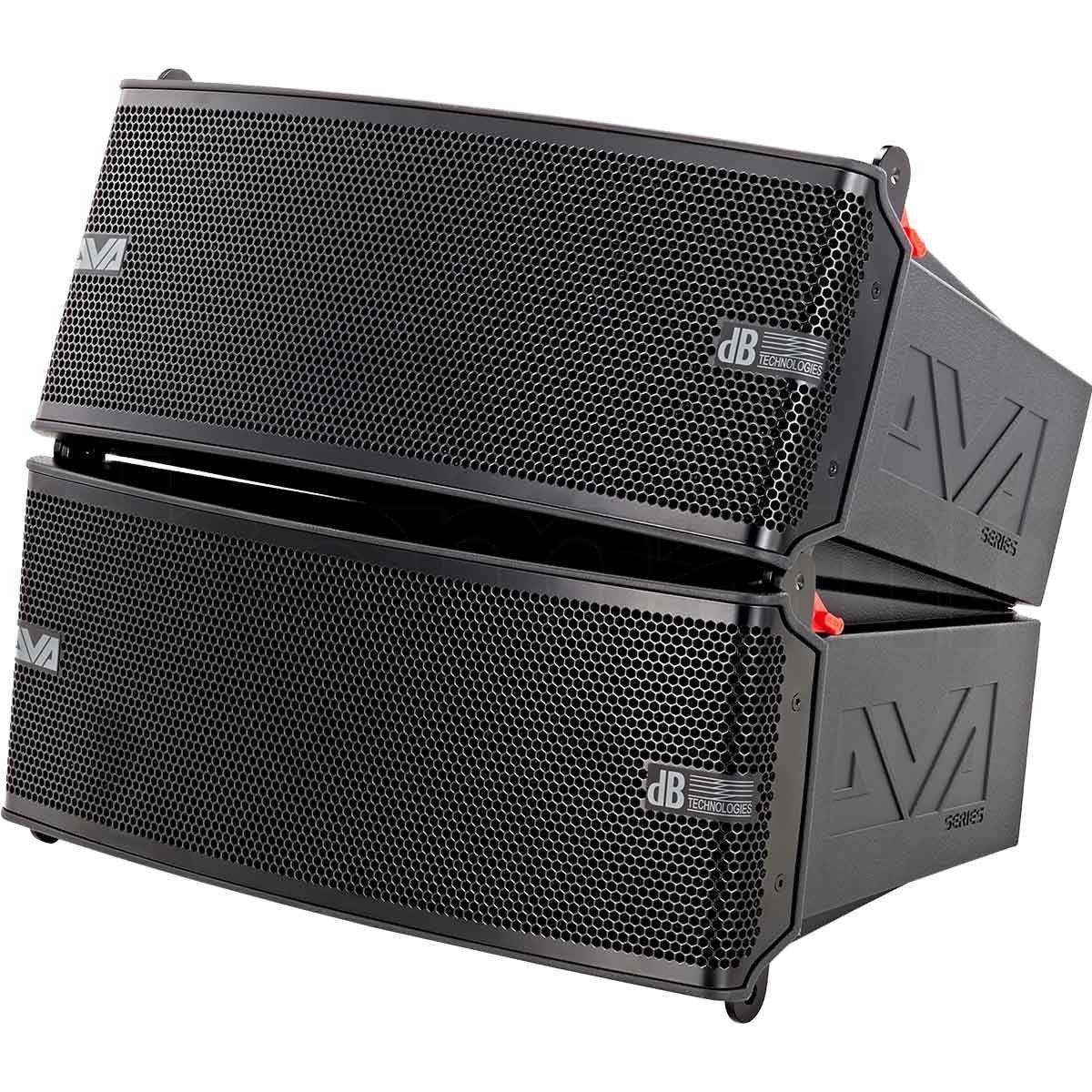 dB Technologies DVA M2M + M2S Caixa de Som DVA M2M+M2S Ativa 400W para Clube e Teatro
