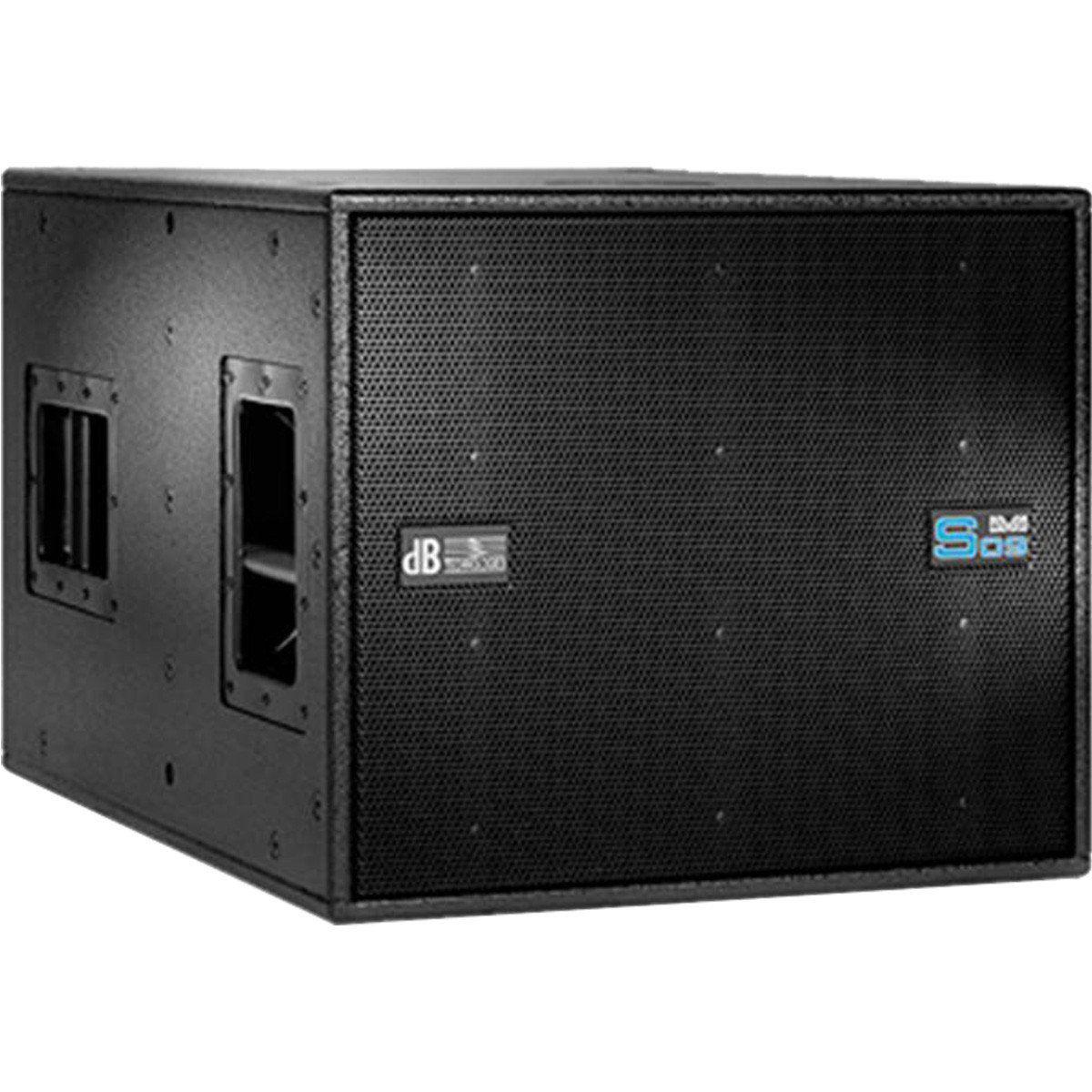 dB Technologies DVA S09DP Caixa de Som DVA S-09-DP Ativa 1000W Subwoofer para Palcos