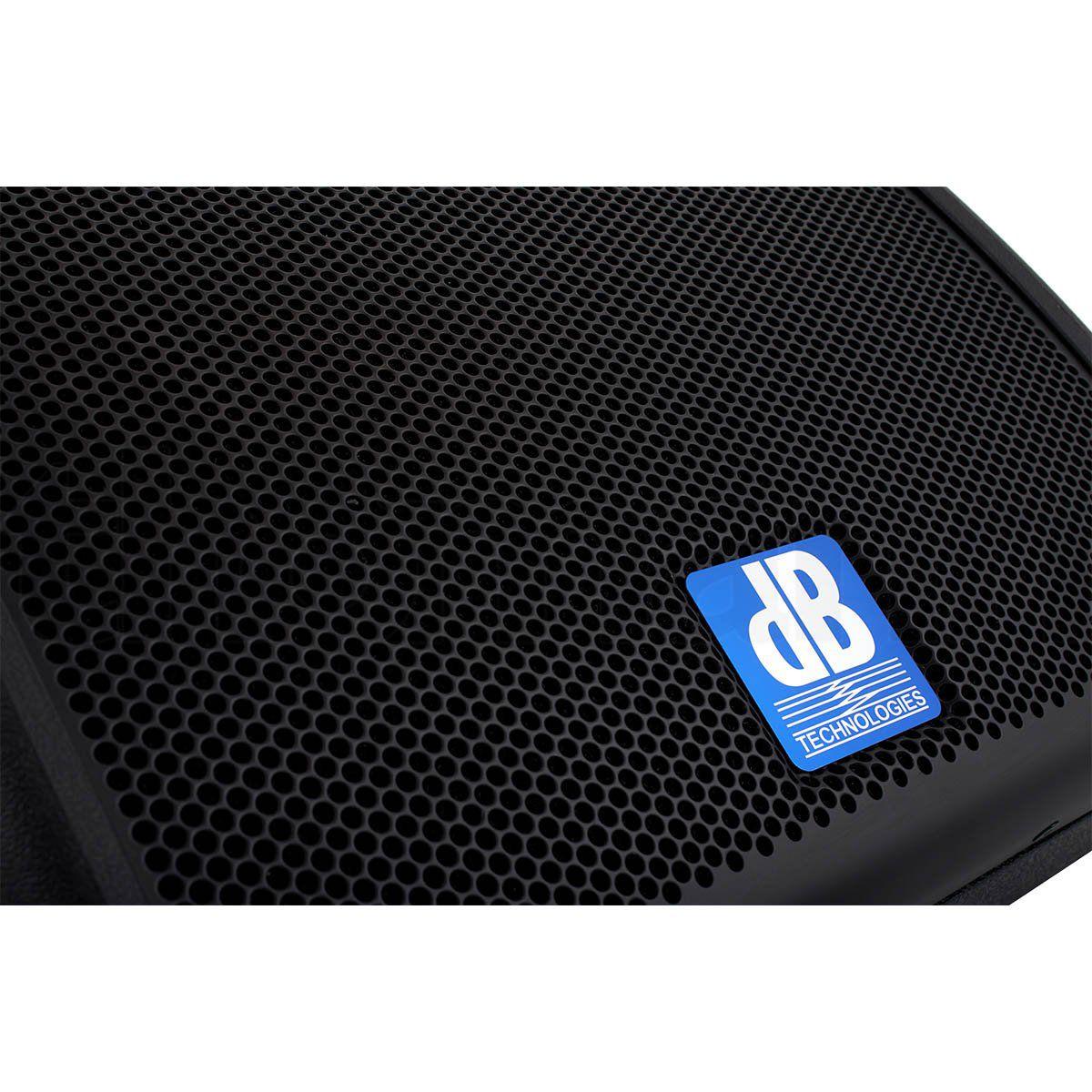 dB Technologies Flexsys FM8 Caixa de Som FM-8 200W Ativa para Retorno E Palco