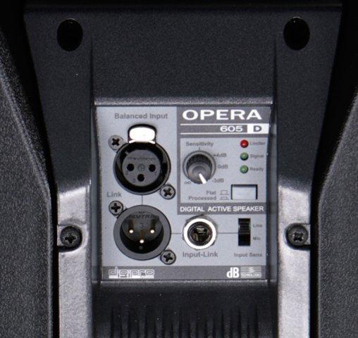 dB Technologies Opera 605D Caixa de Som 605-D Acústica Ativa 600W Profissional