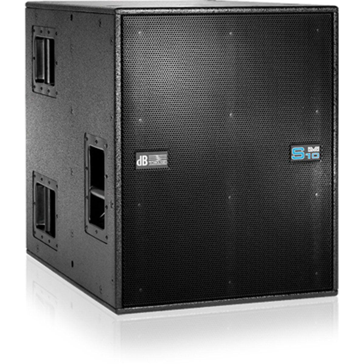 dB Technologies DVA S10DP Caixa de Som DVA S-10-DP Ativa 1000W Ceramic Subwoofer