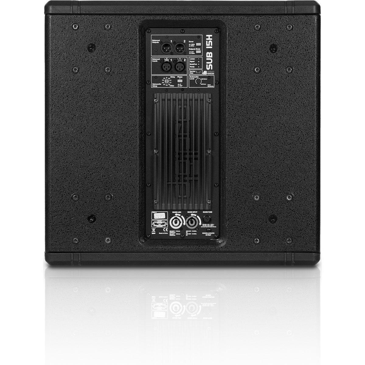 dB Technologies Sub 15H Caixa de Som Sub-15-H Subwoofer Ativo 1000W Alta Performance