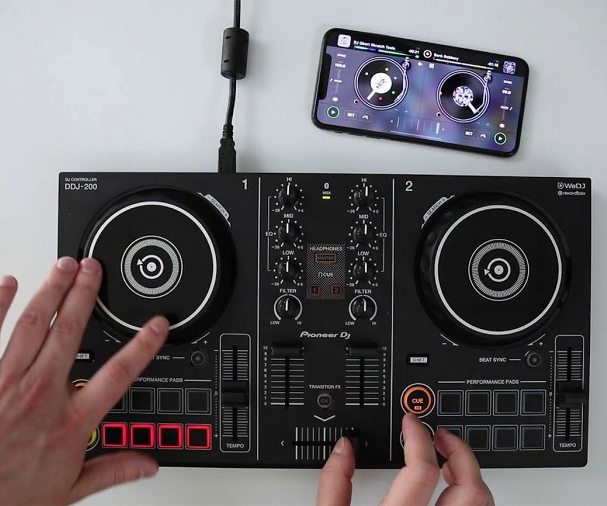 DDJ-200 Controladora para DJ  Pioneer Controller
