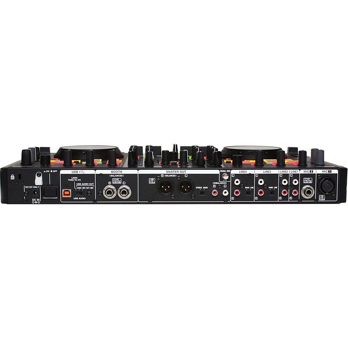 Denon MC6000 MK2 Controladora Dj MC 6000 4-Decks 4-Canais Serato Dj