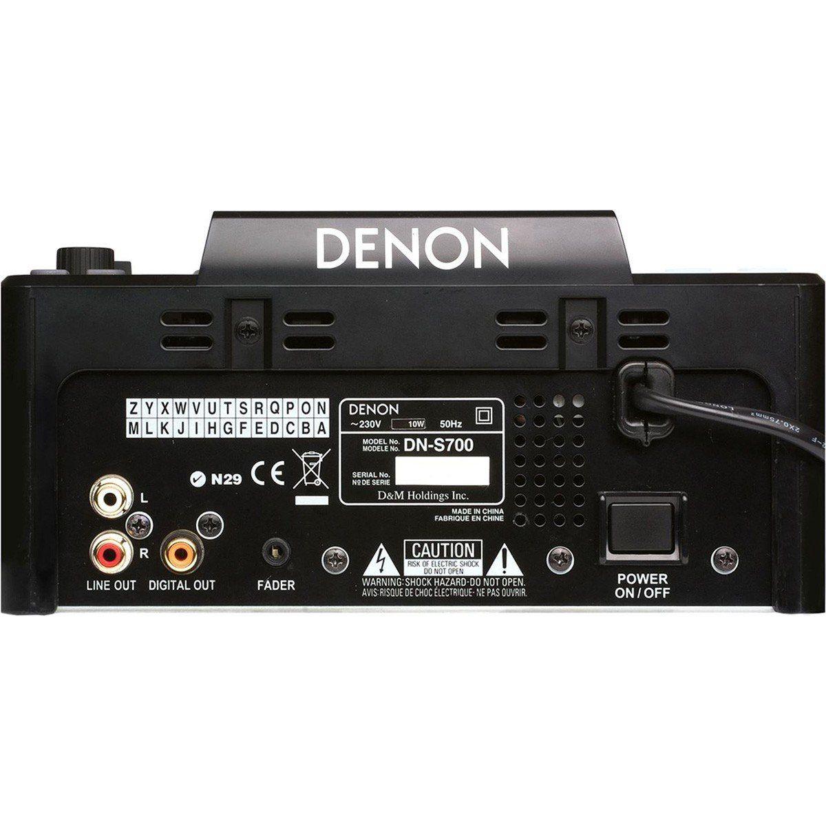 Denon DN-S700 Player MP3 Denon DNS700 CDJ Portátil para Dj Profissional