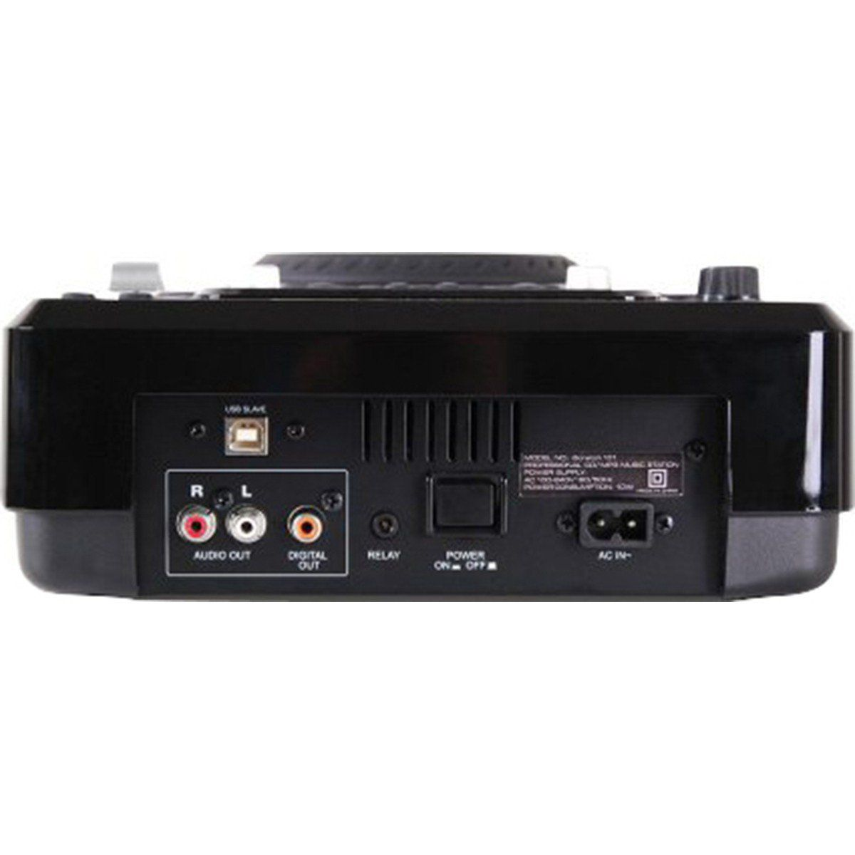Dj-Tech iScratch 101 V2 Player USB MP3 Dj-Tech iScratch 101V2 para DJ Profissional