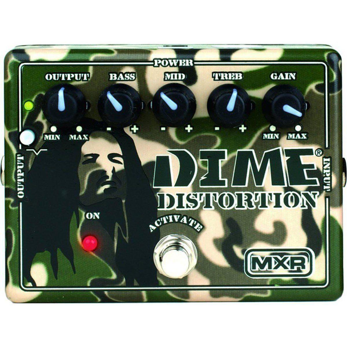 Mxr DD11 de Distorção Pedal com Equalizador de 3 Bandas