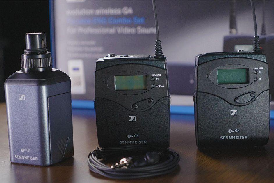 Sennheiser EW 100 ENG G4 Sistema combo de microfone EW100ENG-G4