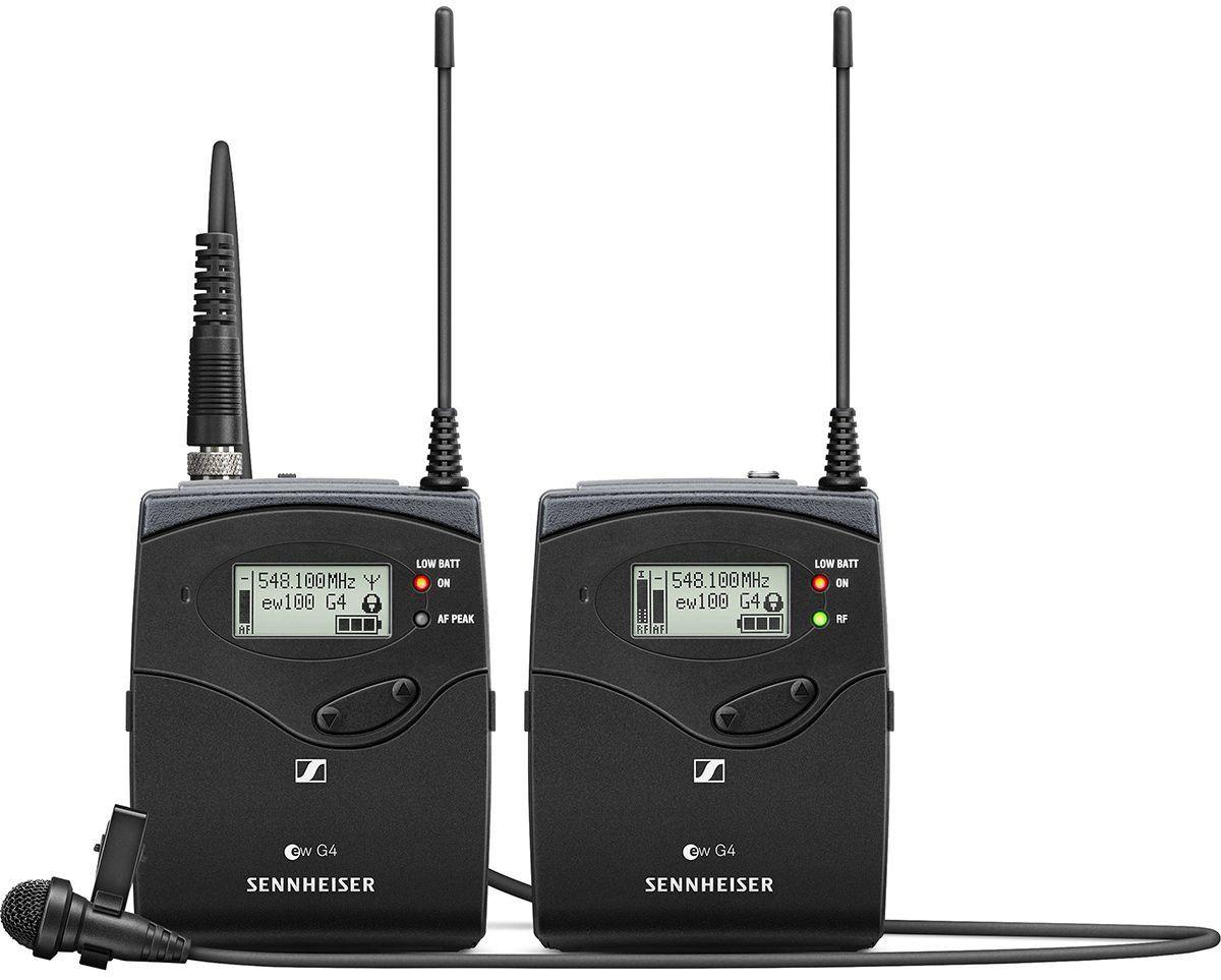 Sennheiser EW 112P G4 Sistema sem fio EW112P-G4 para microfones de lapela