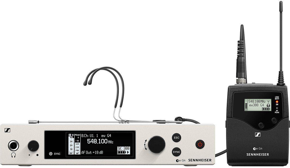 Sennheiser EW 300 G4 HEADMIC1-RC Sistema sem fio com headmic EW 300 G4 Headmic 1 RC