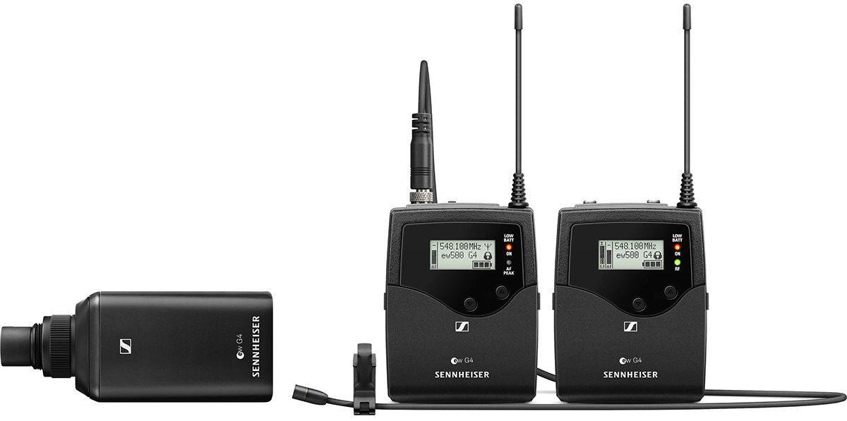 Sennheiser EW 500 FILM G4 Sistema de combo sem fio EW500FILMG4 com microfone de lapela