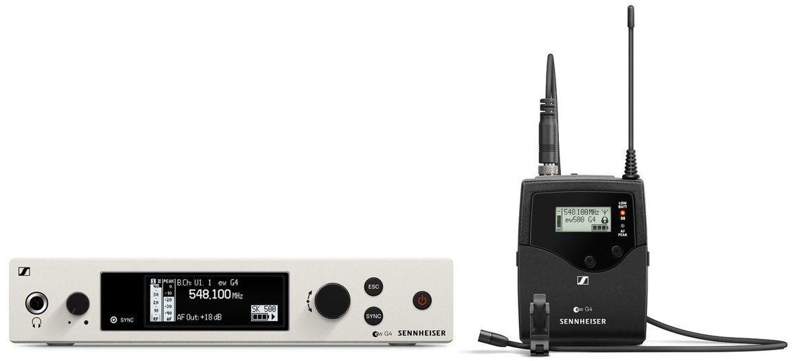 Sennheiser EW 500 G4-MKE2 Sistema sem fio EW500G4-MKE2 com microfone de lapela