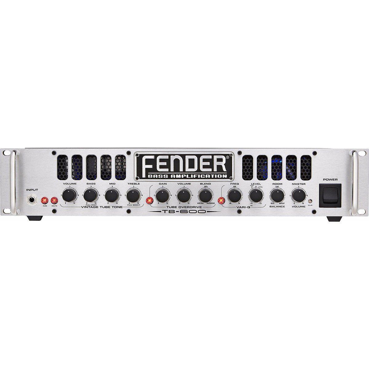 Fender Bass TB600 Amplificador Ideal para Baixo para Palco ou Estúdio