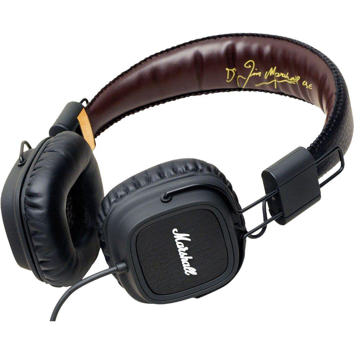 Marshall Major Fx Fone de Ouvido Major-FX para Uso diário com Música e Celular