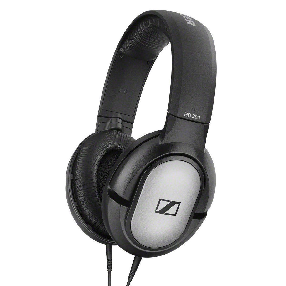 Sennheiser HD 206 Fone de Ouvido Sennheiser HD-206, Over Ear Headphones
