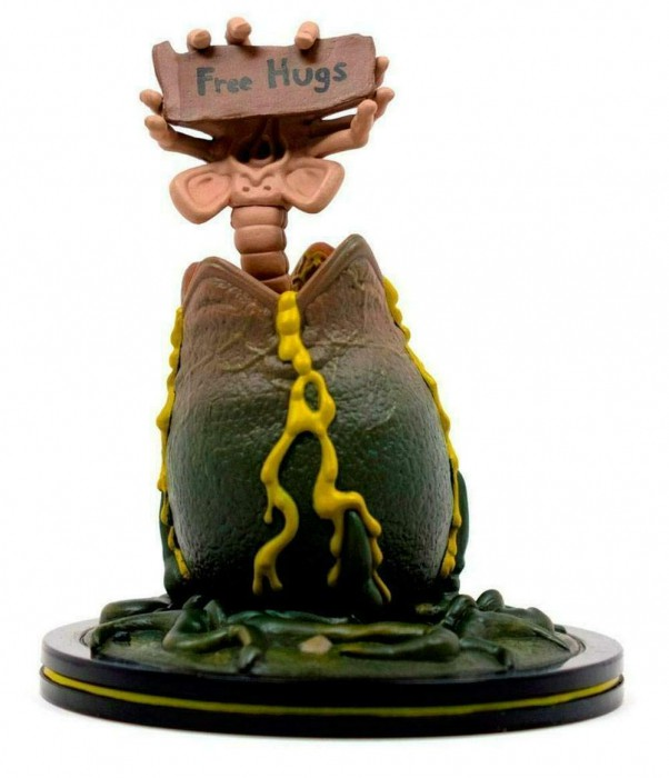 Funko Pop Rick And Morty Alien Facehugger Free Hugs ALN-0400