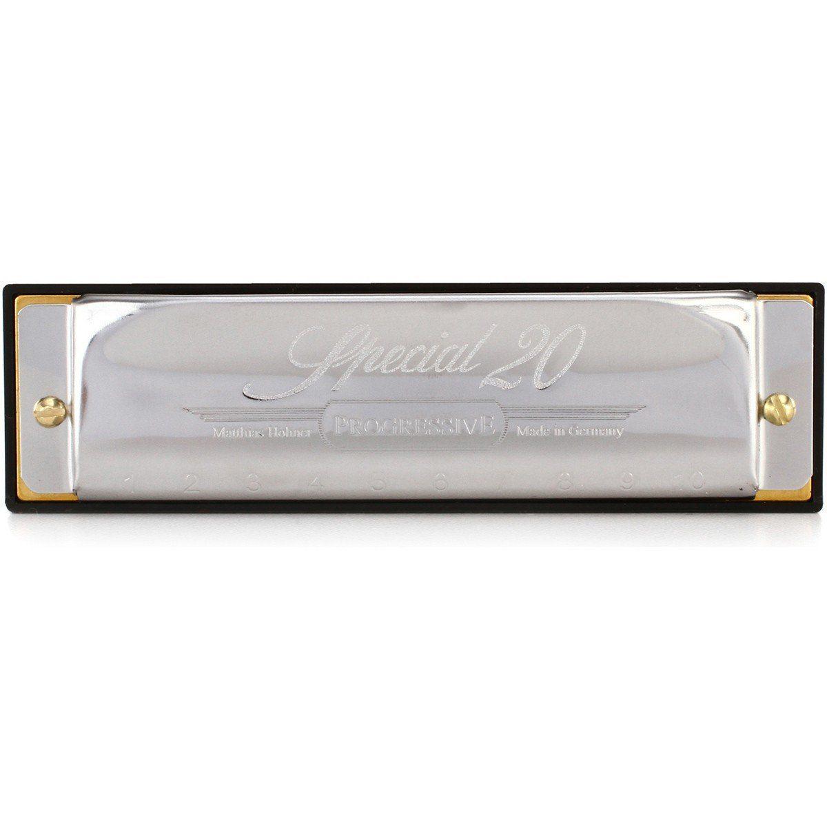 Hohner Special 20 560/20 Gaita Harmônica Ideal para Country Music e Rock