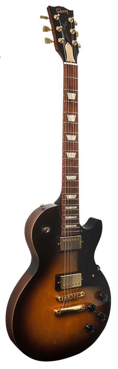 Gibson Les Paul Studio 2013 Gold Guitarra Series Vintage Sunburst Satin