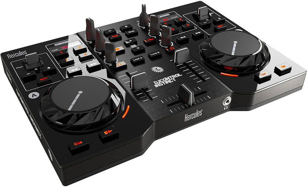 Hercules Instinct Controladora DJ  2-Canais 2-Decks Usb Portátil