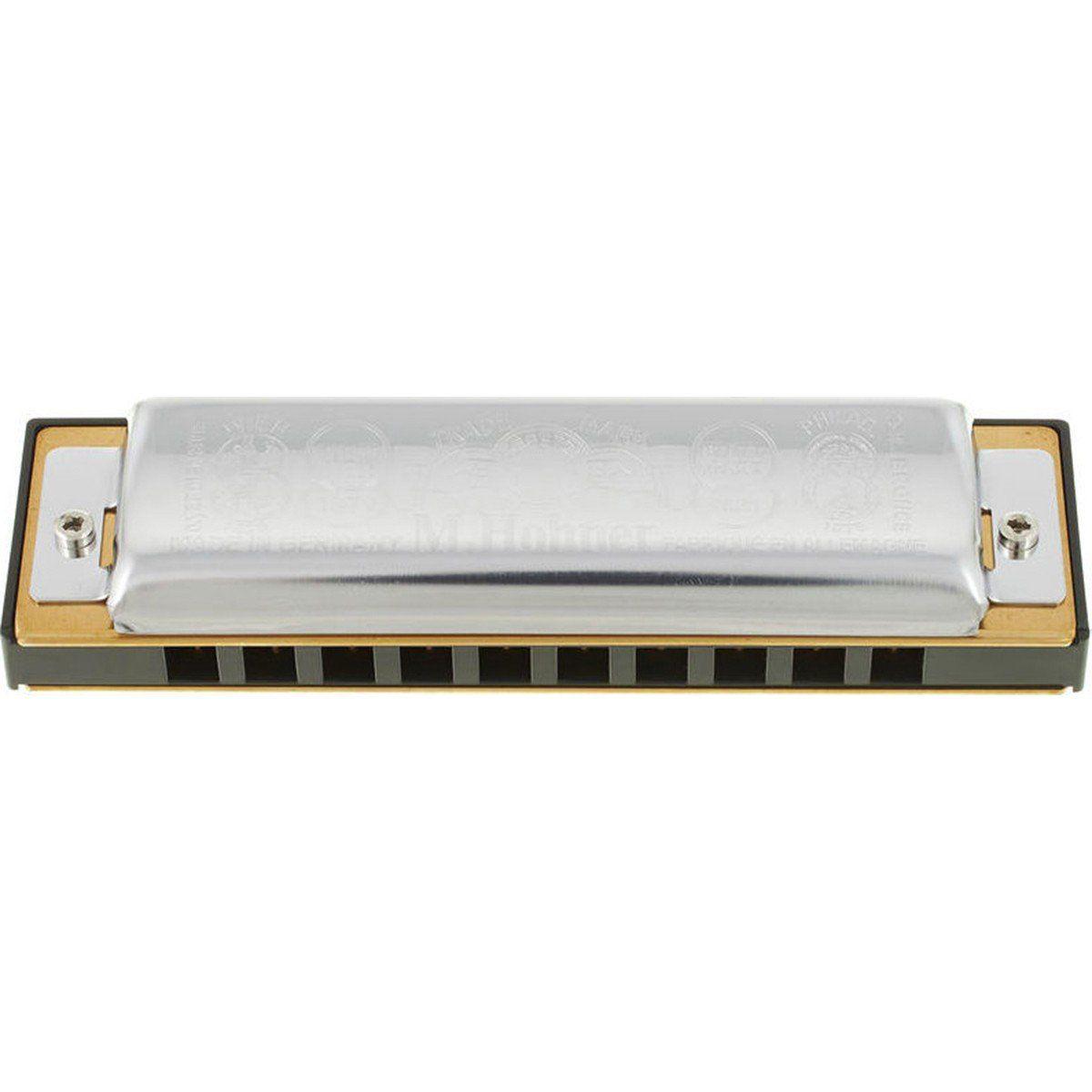 Hohner Big River Harp 590/20 C (Dó) Gaita Harmônica para Iniciantes e Profissionais