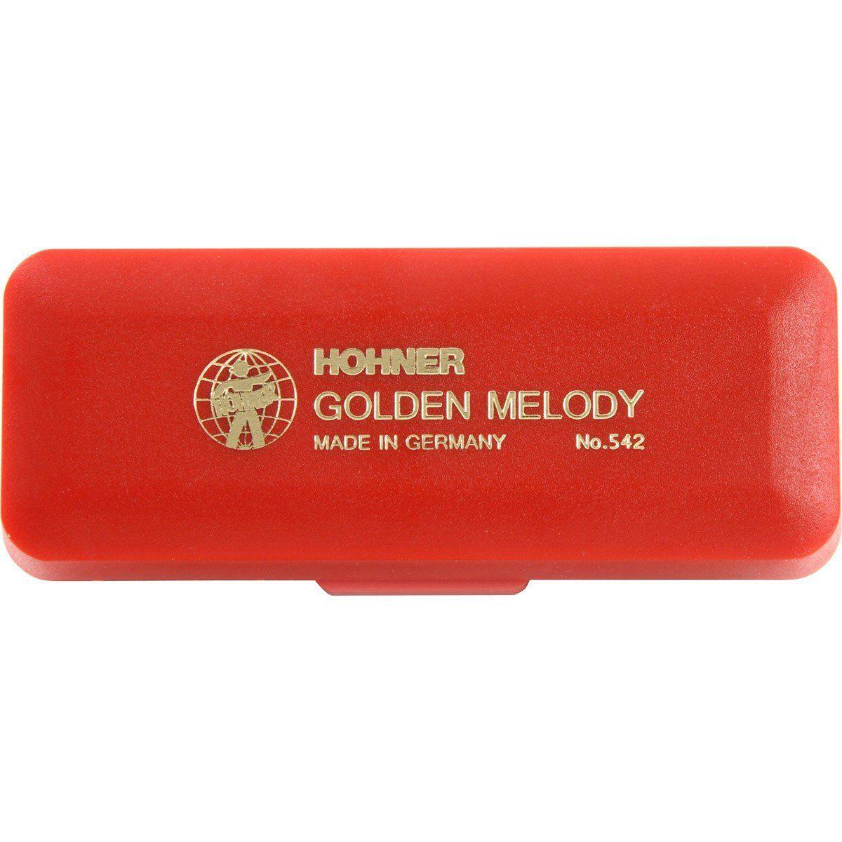 Hohner Golden Melody 2416/40 Gaita Harmônica C Dó Ideal para Jazz