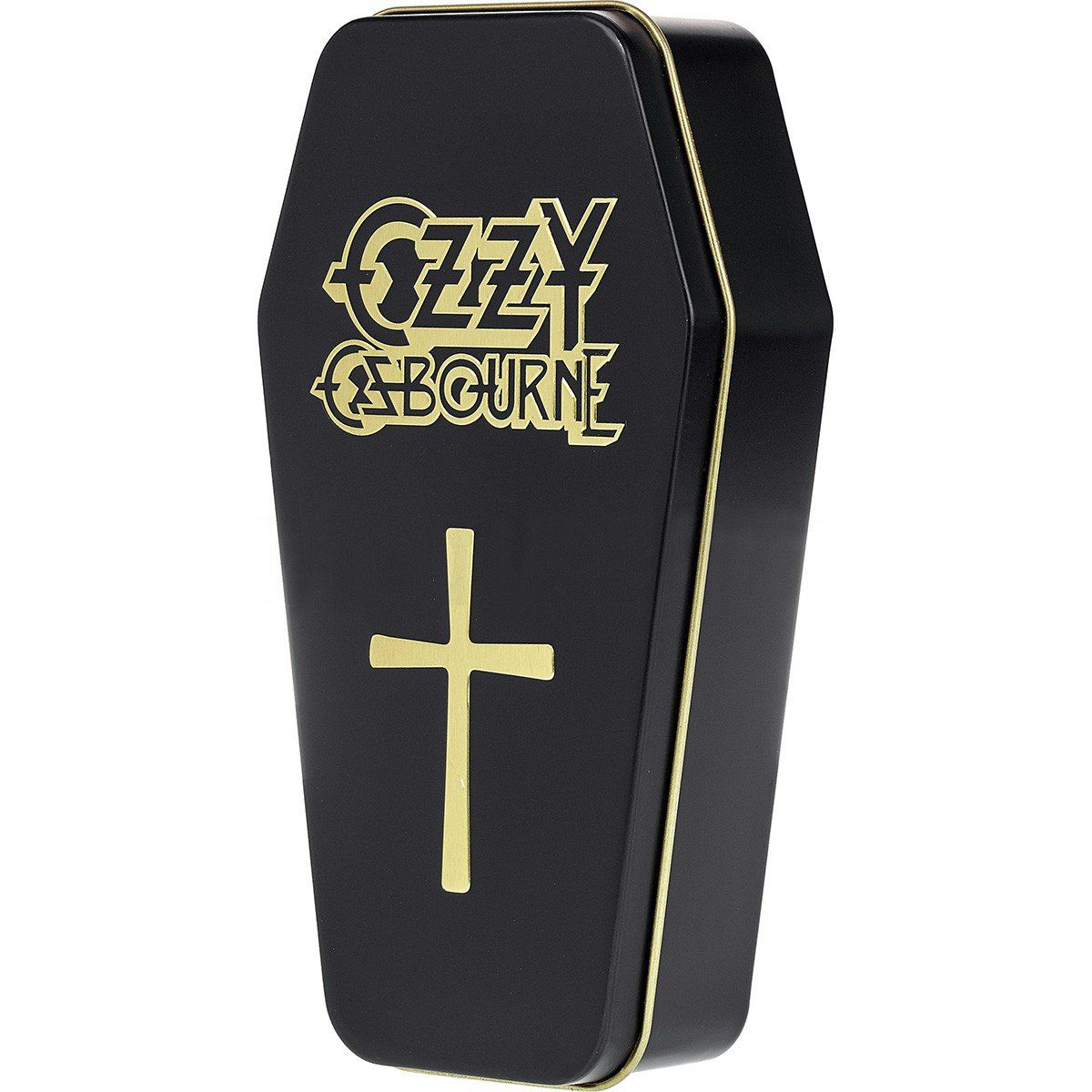 Hohner Ozzy Osbourne M666 Gaita Harmônica Afinada em C Dó Assinada com Case de Caixão
