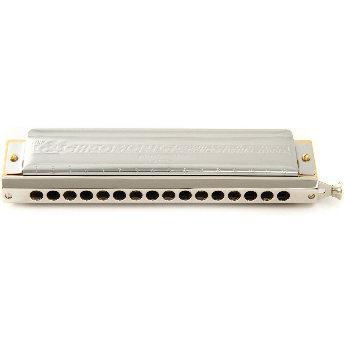 Hohner The 64 Chromonica 280/64 Gaita Harmônica Ideal para Blues Jazz Pop e Rock