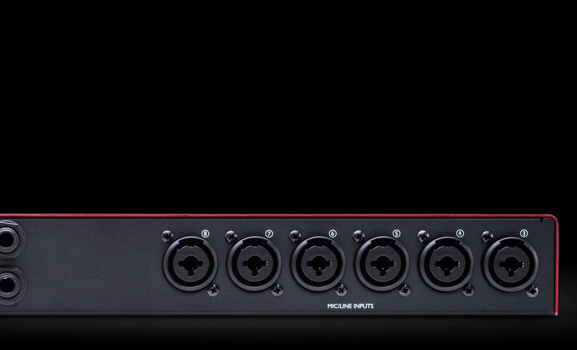 Focusrite Scarlett OctoPre Interface de Áudio Scarlett Octo-Pre 8x8 ADAT 24-Bit 192-K