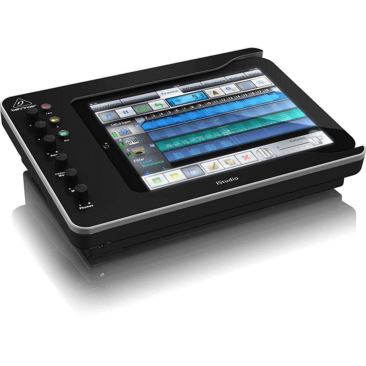 Behringer iStudio iS202 Interface de Áudio IS-202  2x2 para iPad Dockstation Usb