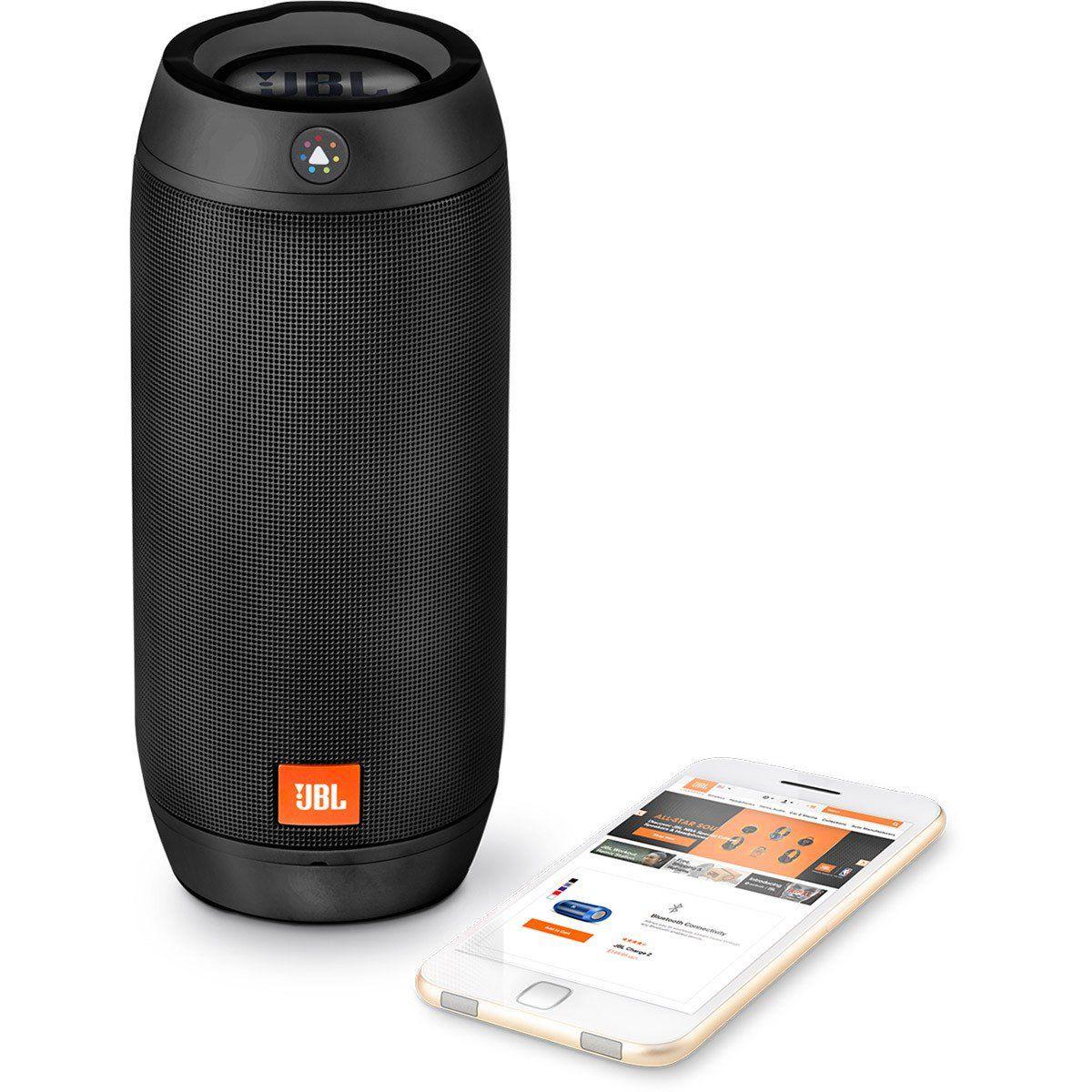 Jbl Pulse 2 Caixa de Som a Prova de Respingos BlueTooth Luzes Customizáveis