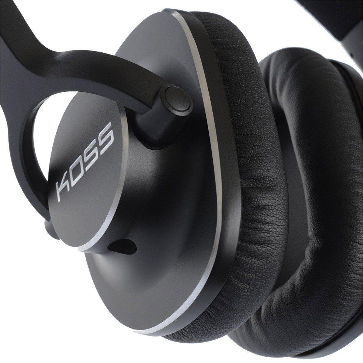 Koss Pro 4S Fone de Ouvido Pro-4S Fechado para Estúdio Memory Foam