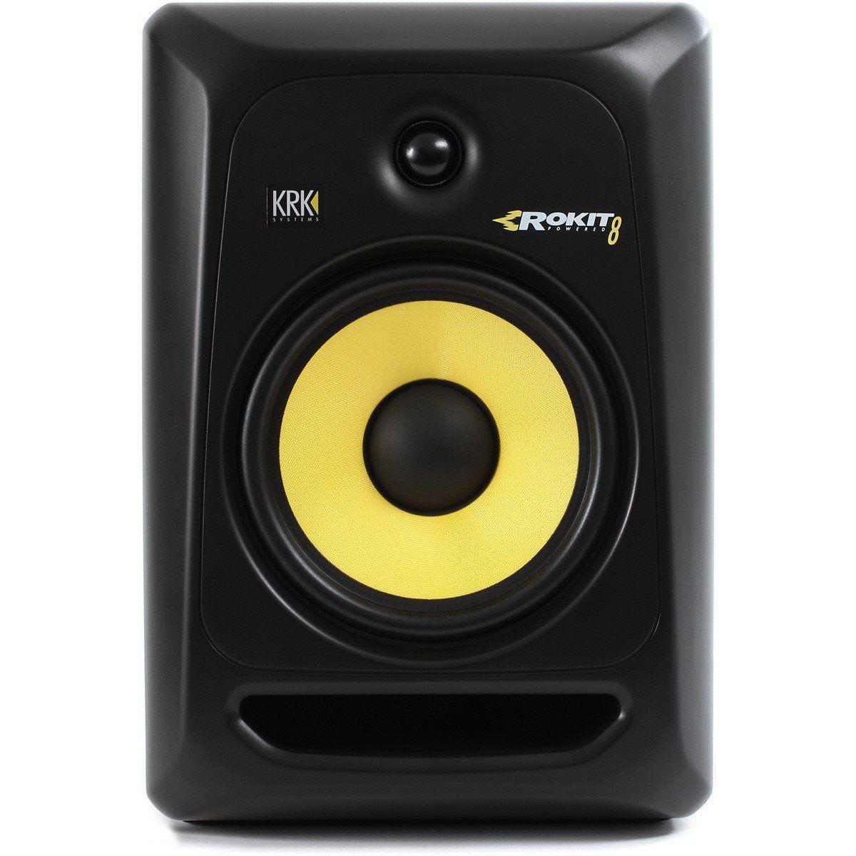 Krk RP8 G3 Rokit Monitor de Áudio Krk RP8G3 Rokit para Estúdio Monitor de Referência