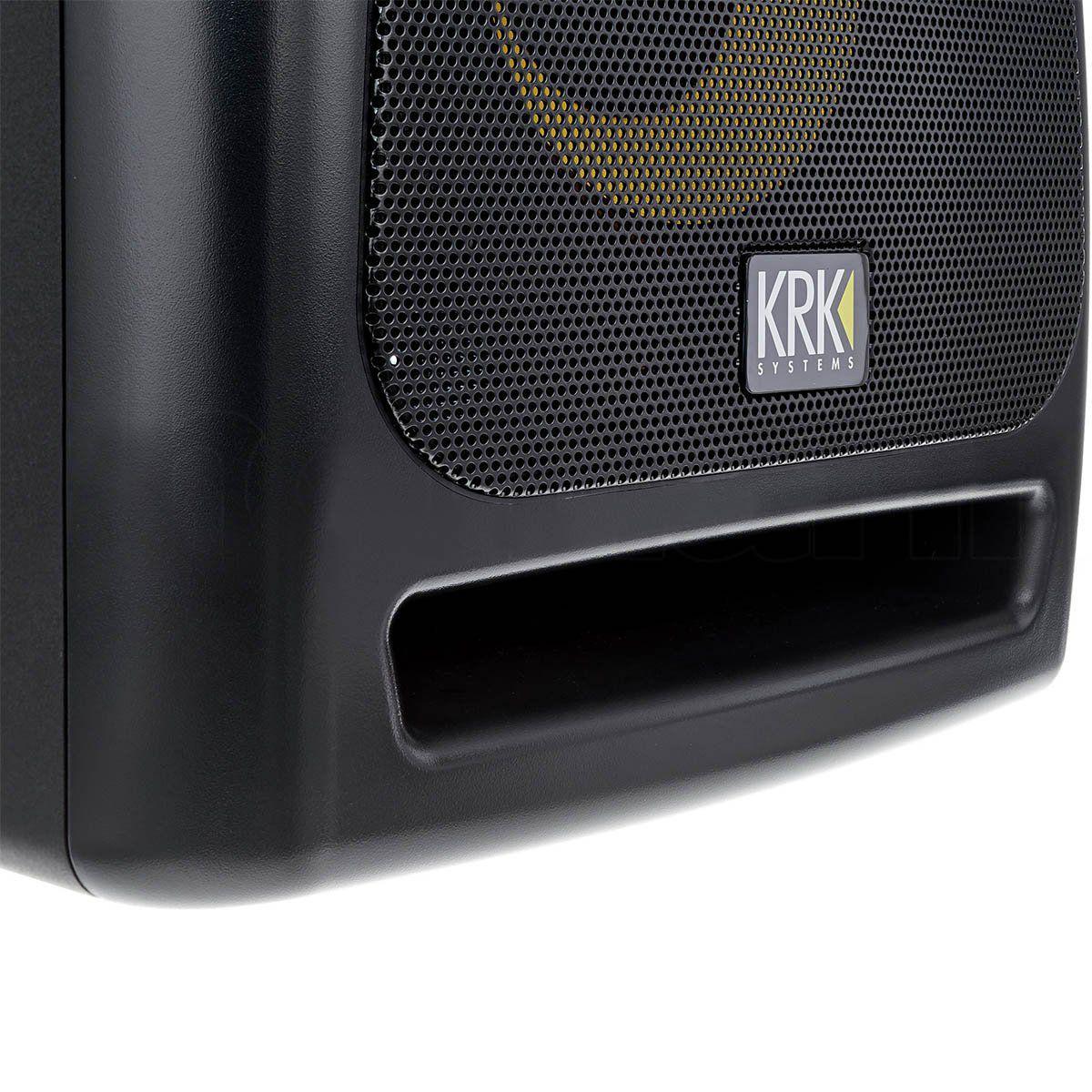 Krk RP12S Monitor de Áudio Subwoofer Krk RP12S Rokit Powered Estúdio