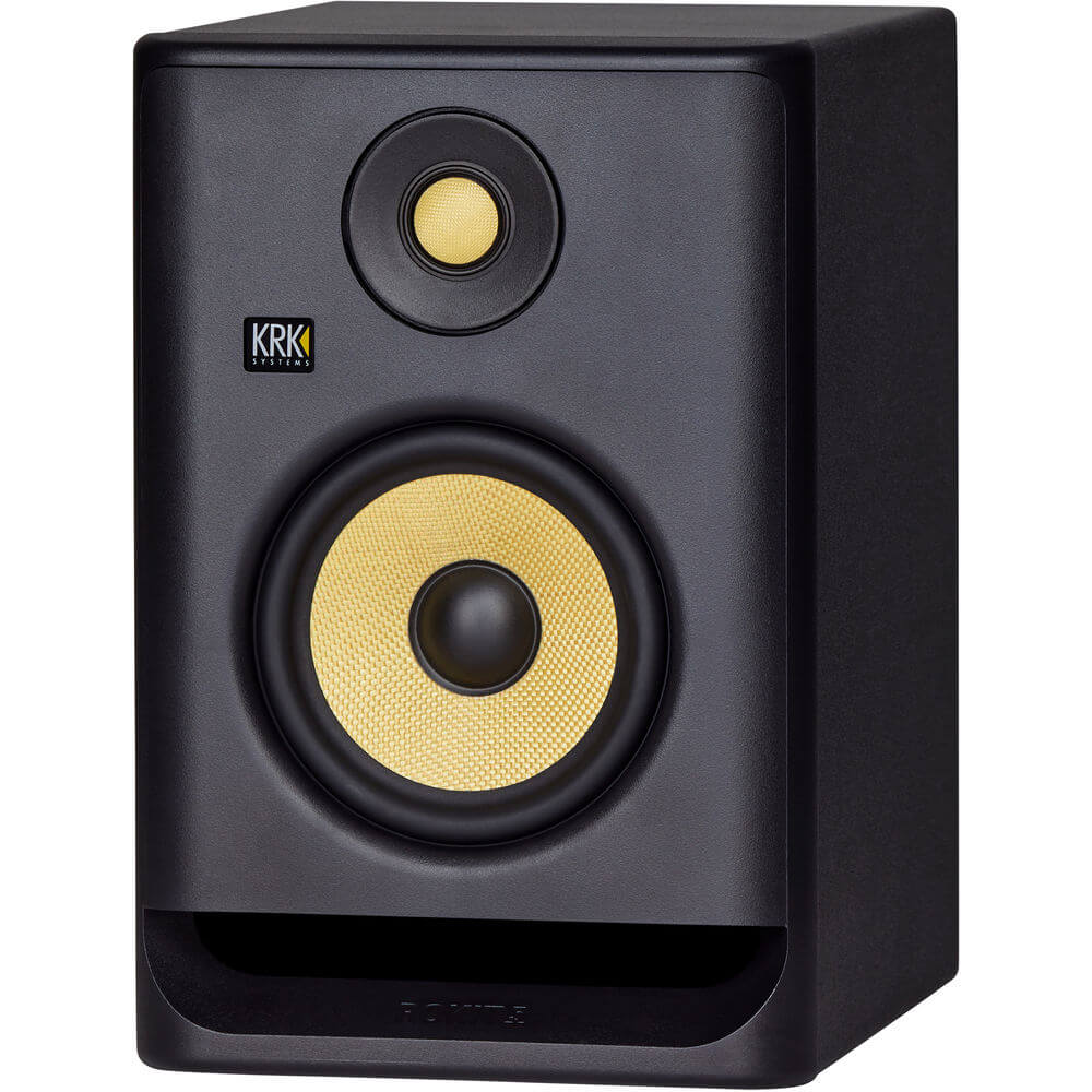 KRK RP5 G4 Rokit Monitor de Áudio Bi-amplificado KRK RP5G4-Rokit 50W de Potencia