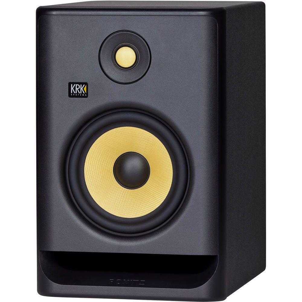 KRK RP7 G4 Rokit Monitor de Áudio Bi-amplificado KRK RP7G4-Rokit 145W de Potencia