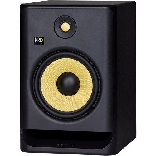 KRK RP8 G4 Rokit Monitor de Áudio Bi-amplificado KRK RP8G4-Rokit 203W de Potencia