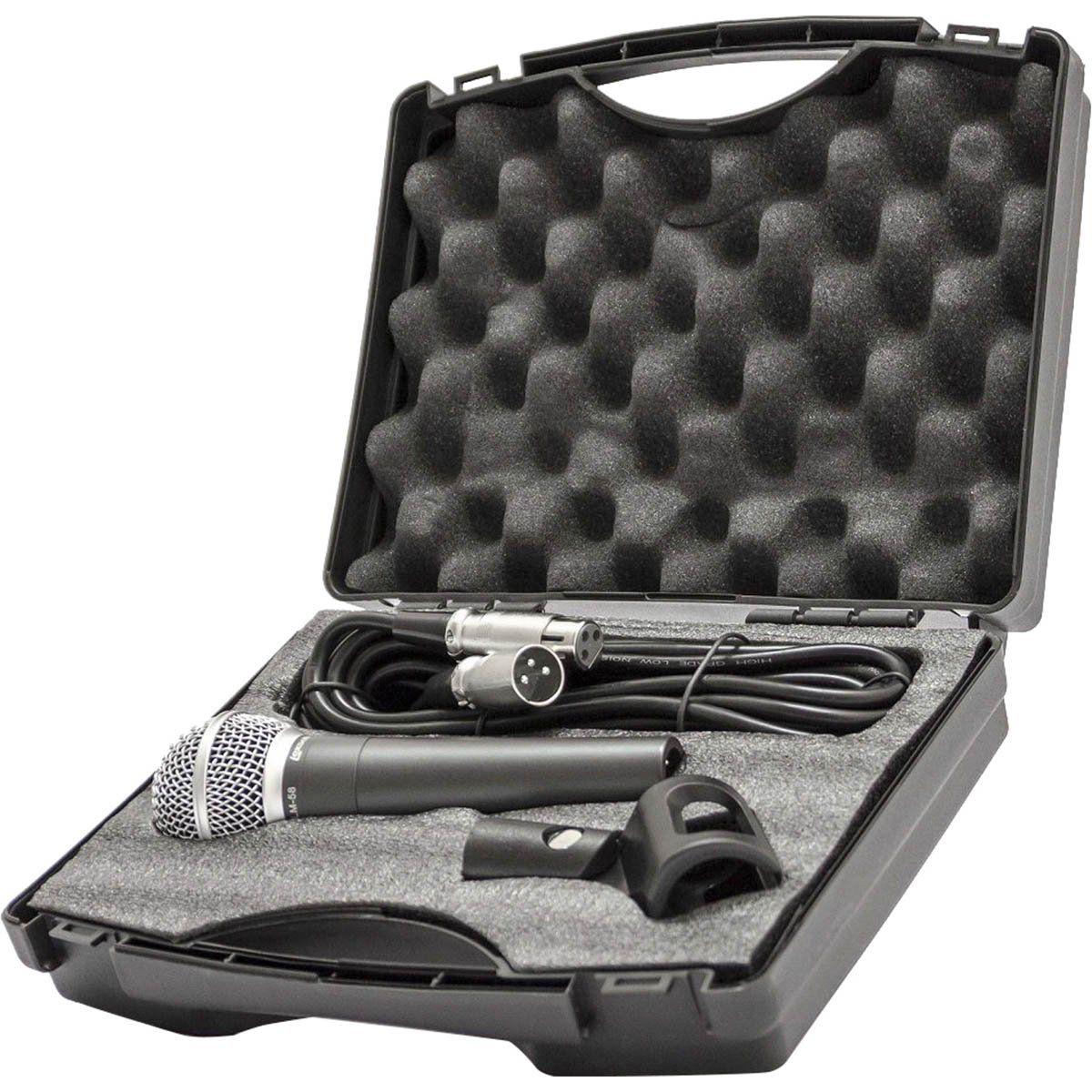 Lexsen LM 58 Microfone Cardioide Lexsen LM-58 para Vocal e Instrumental