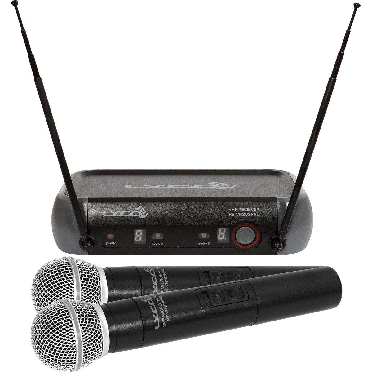 Lyco VH202PRO-MM Microfone Sem fio Lyco VH-202PRO-MM para Palco e Apresentações
