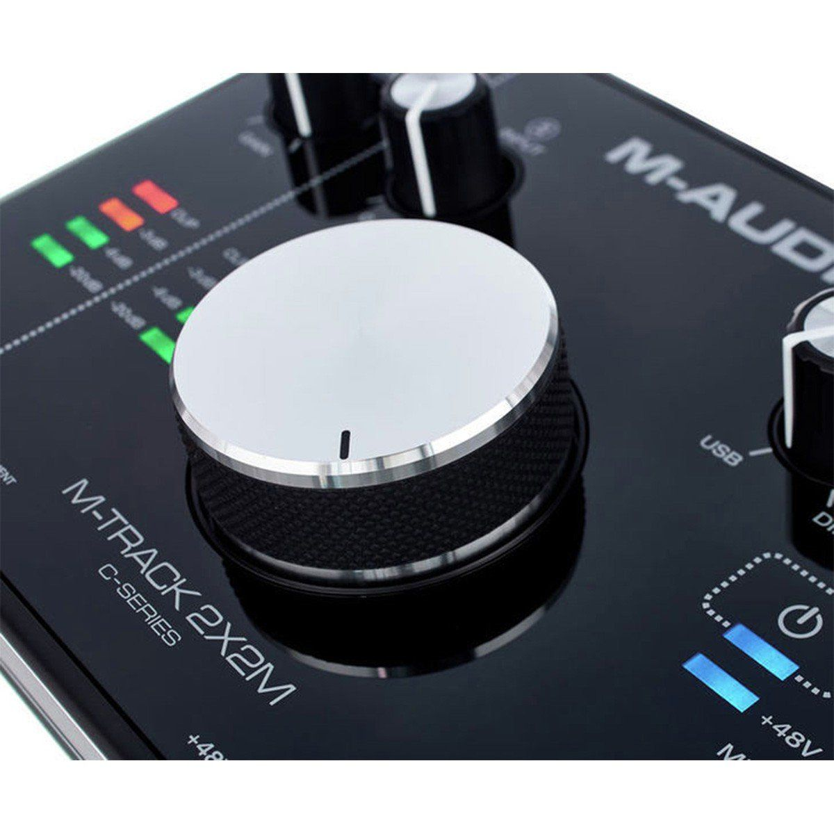 M-Audio M-Track 2x2M Interface de Áudio MTrack 2 x 2 M Usb Midi 24-Bit 192-Khz