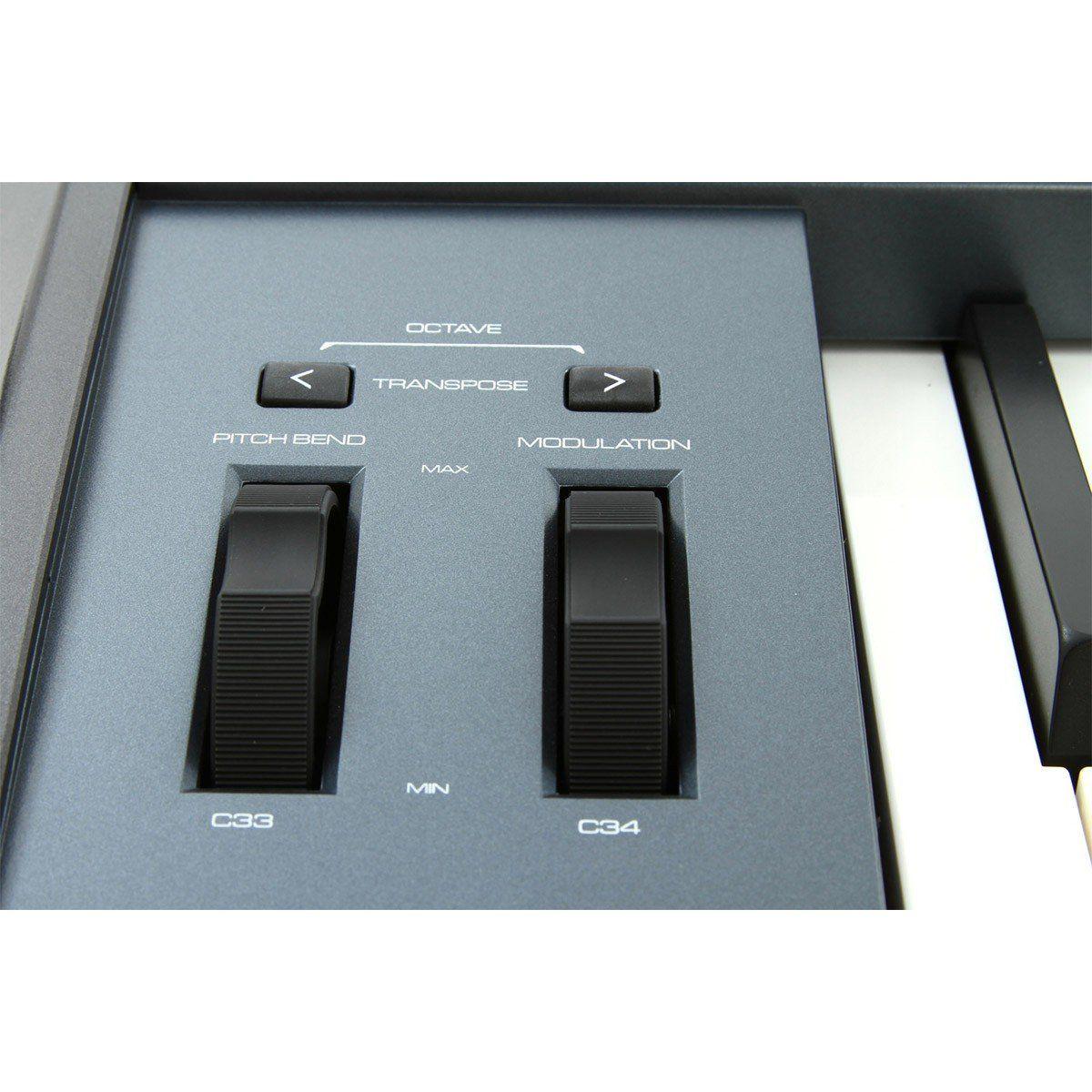 M-Audio Oxygen 88 Controladora Midi para Produção Musical e Home Studio