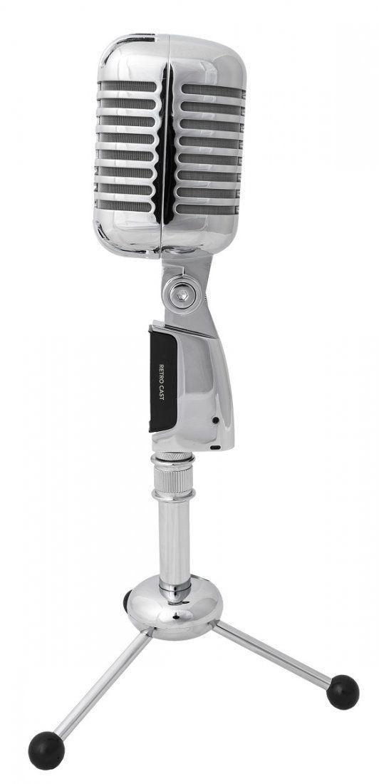 Marantz RetroCast Microfone Condensador Marantz Retro Cast para Gravações de Mesa