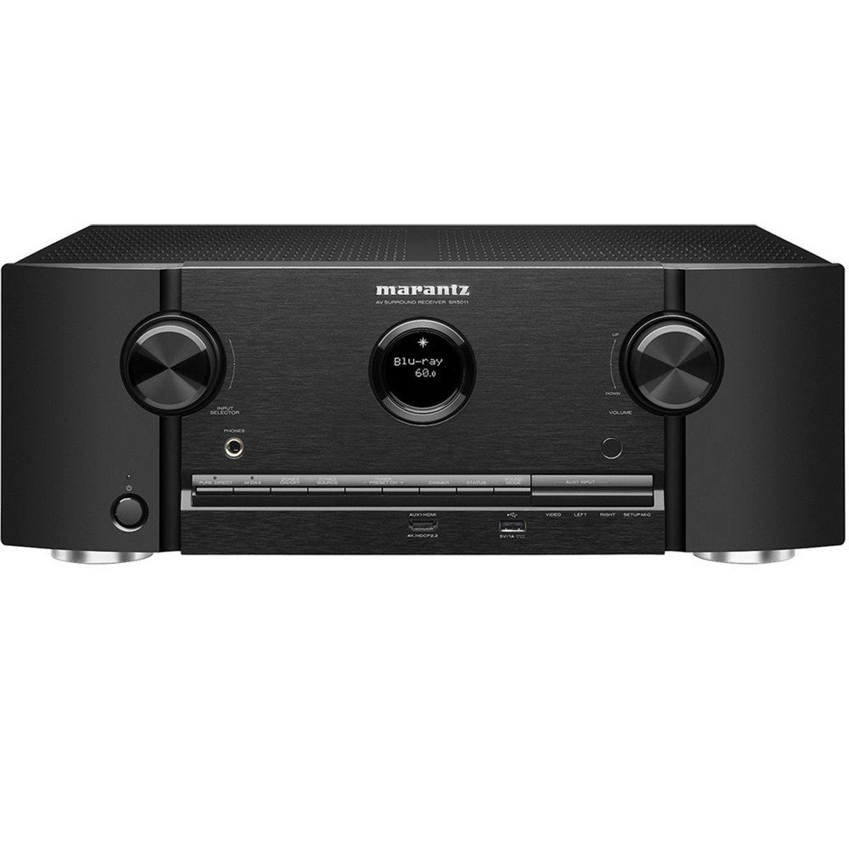 Marantz SR5011 Receiver com Wi-fi Bluetooth e 4K Ultra HD