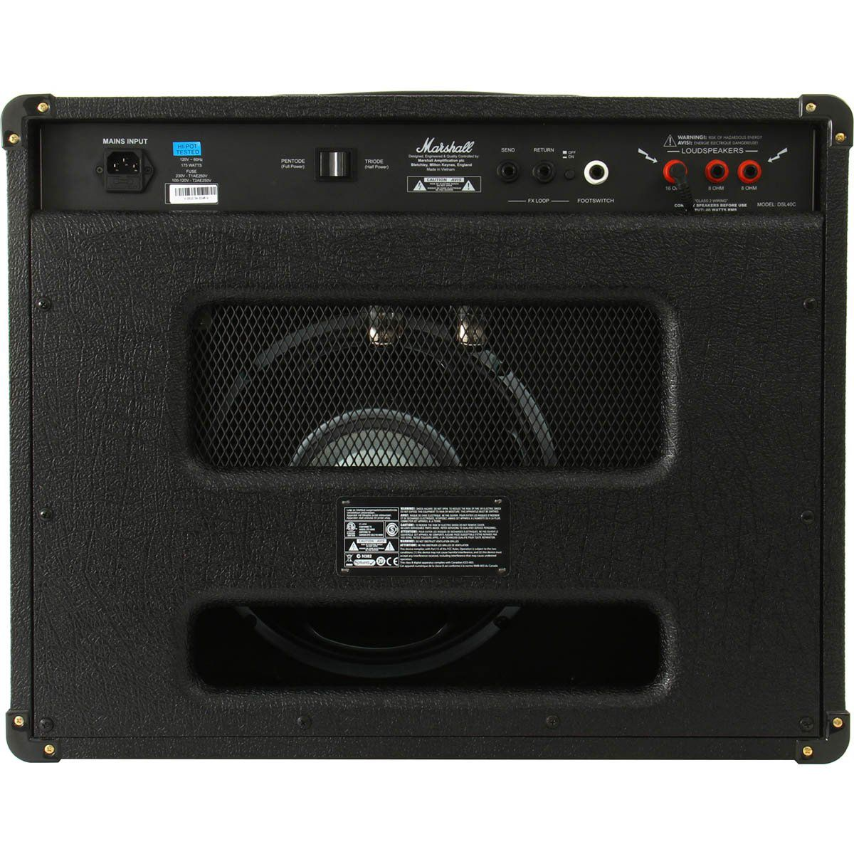 Amplificador Marshall DSL40C Combo para Guitarra