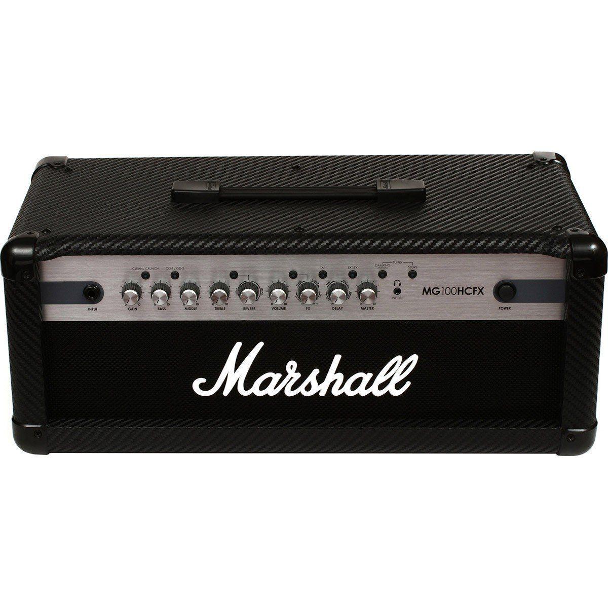 Marshall MG100HCFX Amplificador Cabeçote para Guitarra 100w de Potência