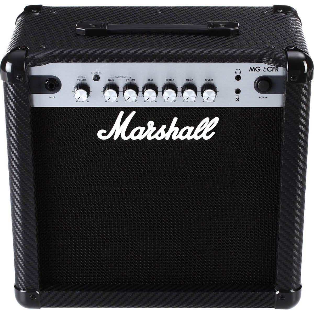 Marshall MG15CFR Amplificador Combo para Guitarra 15w de Potência