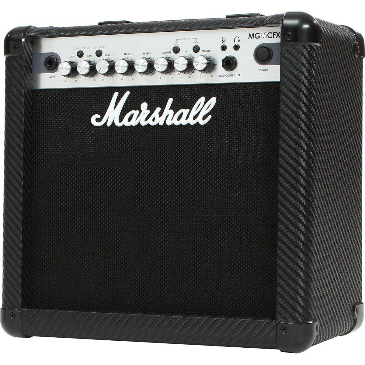 Marshall MG15CFX Amplificador Combo para Guitarra 15w de Potência