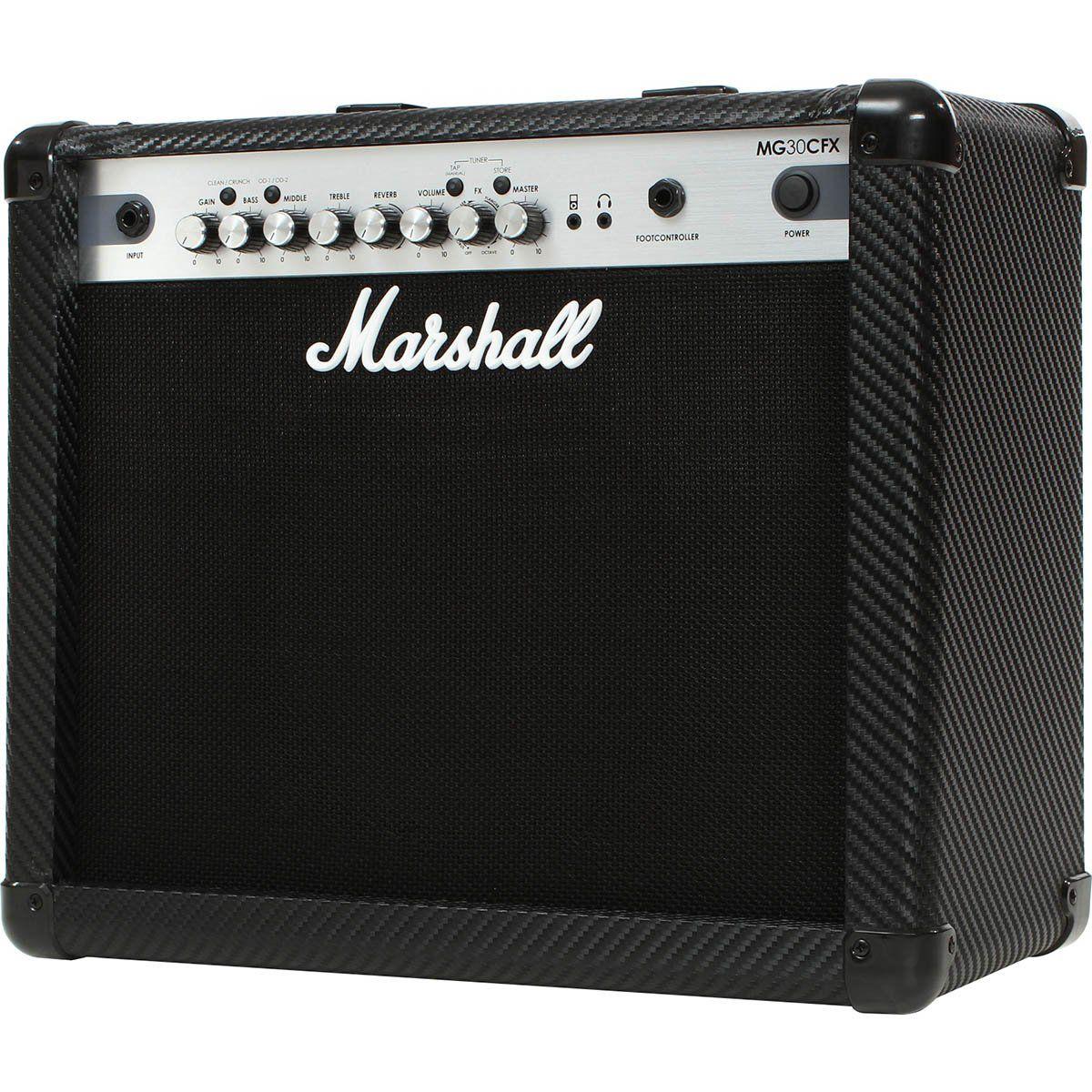 Marshall MG30CFX Amplificador Combo para Guitarra 30w de Potência