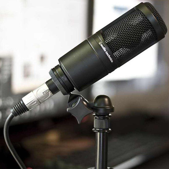 Audio Technica AT2020 Microfone Condensador Cardioide AT-2020