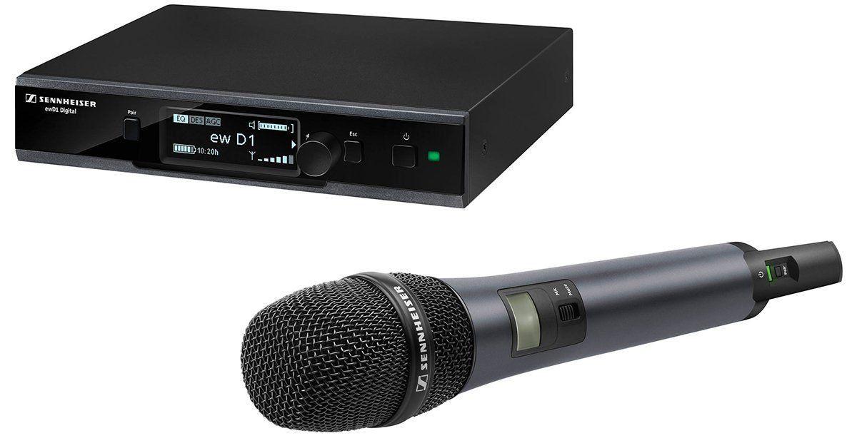 Sennheiser EW D1-835S Microfone Sem Fio Sennheiser EWD1-835S Bivolt para Palestras